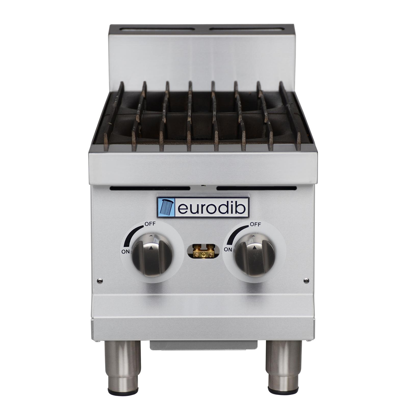 Eurodib USA T-HP212 hotplate, countertop, gas