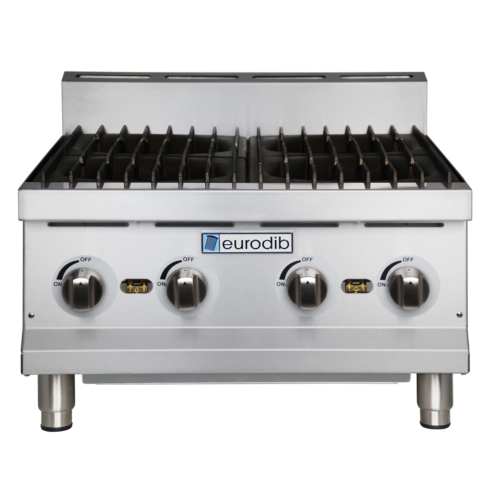 Eurodib USA T-HP424 hotplate, countertop, gas