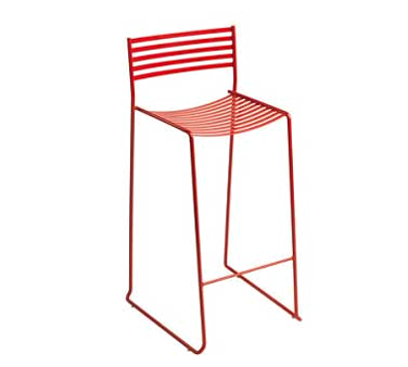 emuamericas, llc 026 bar stool, stacking, outdoor