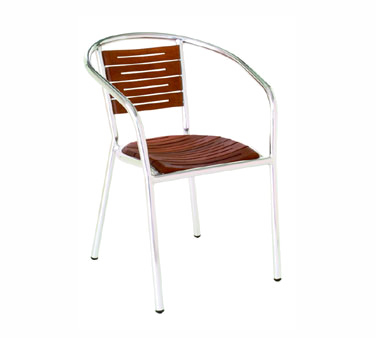 emuamericas, llc 1103 chair, armchair, stacking, outdoor