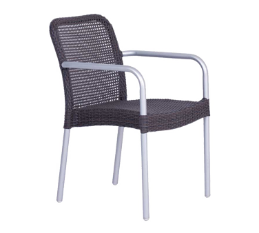 emuamericas, llc 1111 chair, armchair, stacking, outdoor
