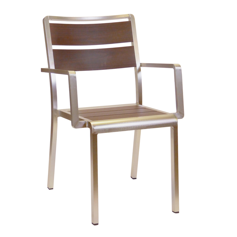 emuamericas, llc 1120 chair, armchair, stacking, outdoor