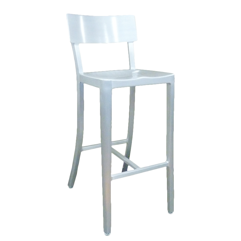 emuamericas, llc 1207 bar stool, stacking, outdoor