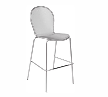 emuamericas, llc 128 bar stool, stacking, outdoor