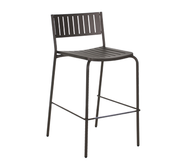 emuamericas, llc 148 bar stool, stacking, outdoor