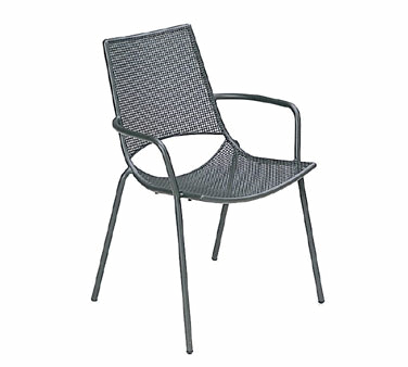 emuamericas, llc 151 chair, armchair, stacking, outdoor