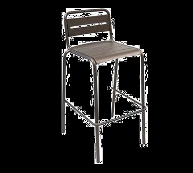 emuamericas, llc 164 bar stool, stacking, outdoor