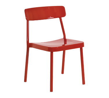 emuamericas, llc 280 chair, side, stacking, outdoor