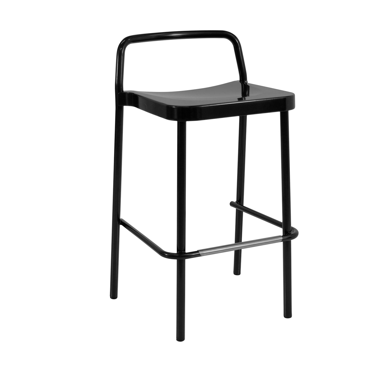 emuamericas, llc 283 bar stool, stacking, outdoor