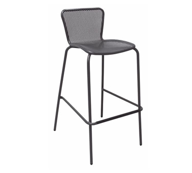 emuamericas, llc 335 bar stool, stacking, outdoor