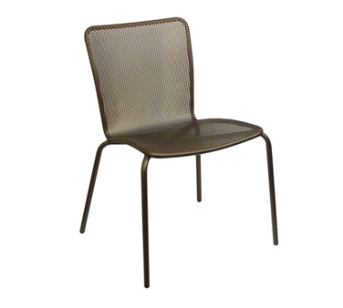 emuamericas, llc 338 chair, side, stacking, outdoor
