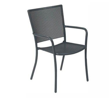 emuamericas, llc 3413 chair, armchair, stacking, outdoor