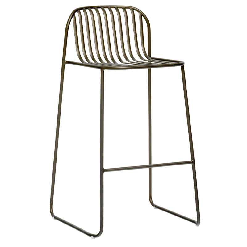 emuamericas, llc 436 bar stool, stacking, outdoor