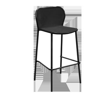 emuamericas, llc 523 bar stool, stacking, outdoor
