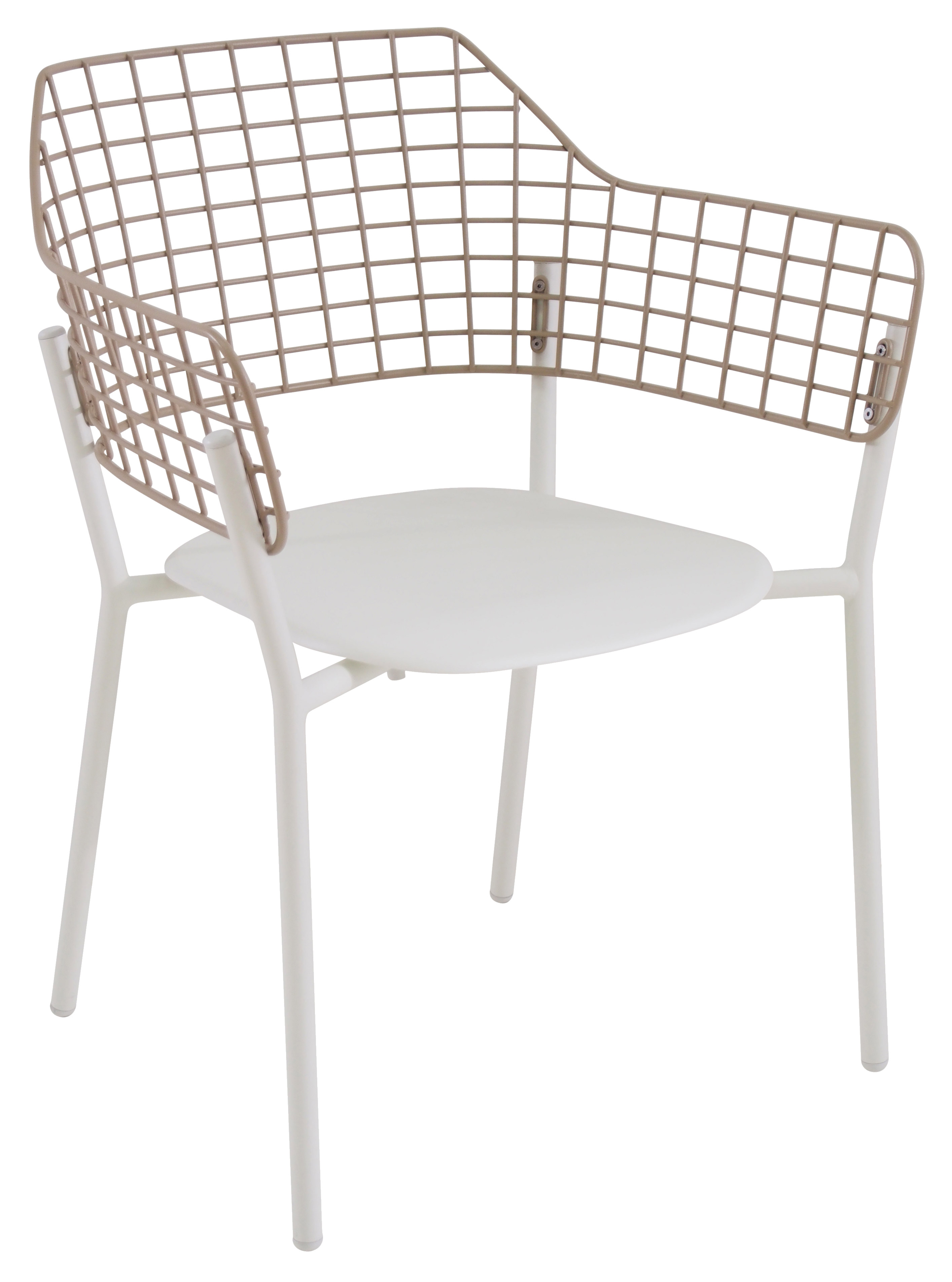 emuamericas, llc 616 chair, armchair, stacking, outdoor