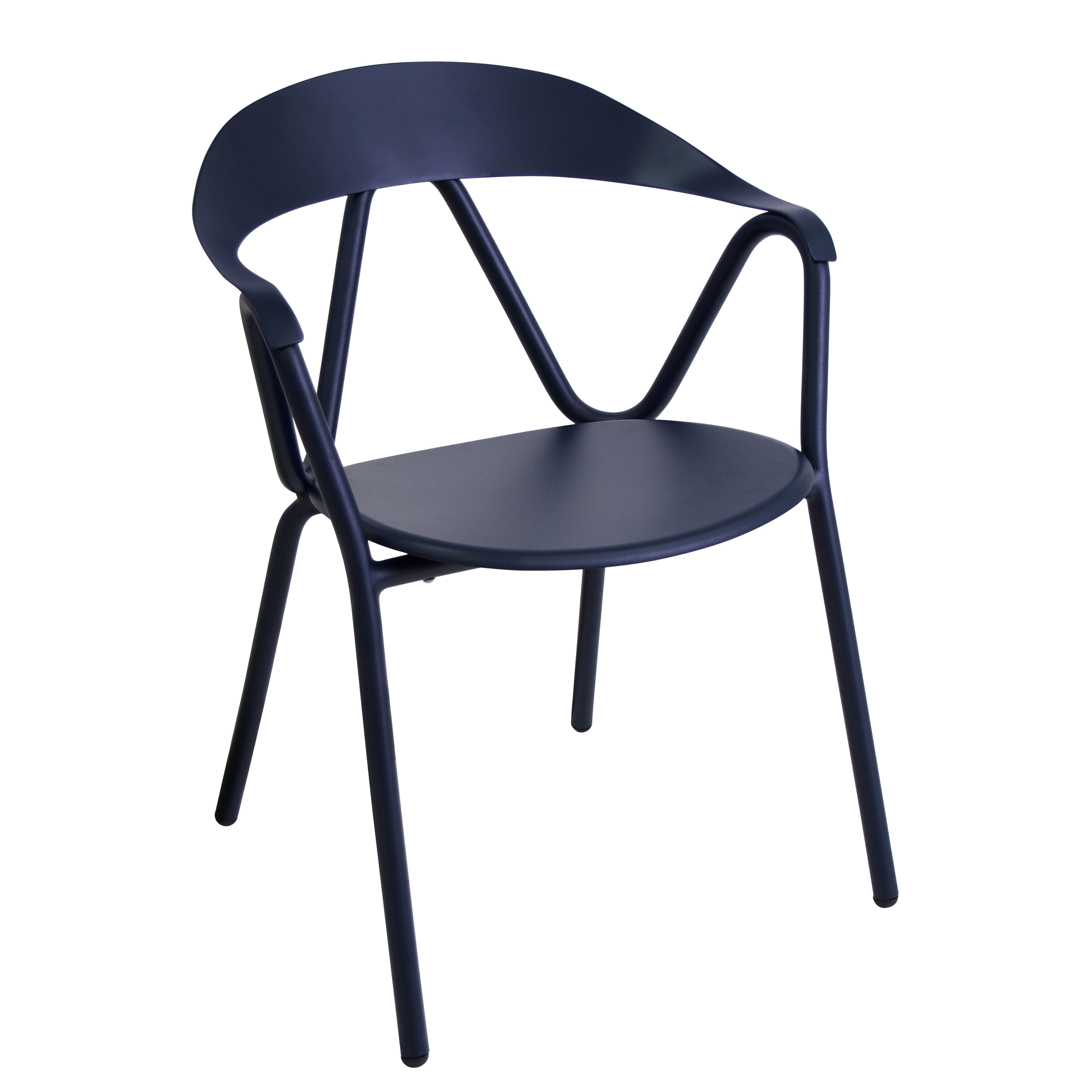 emuamericas, llc 620 chair, armchair, stacking, outdoor