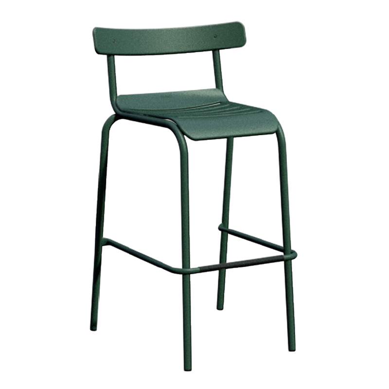 emuamericas, llc 645 bar stool, stacking, outdoor
