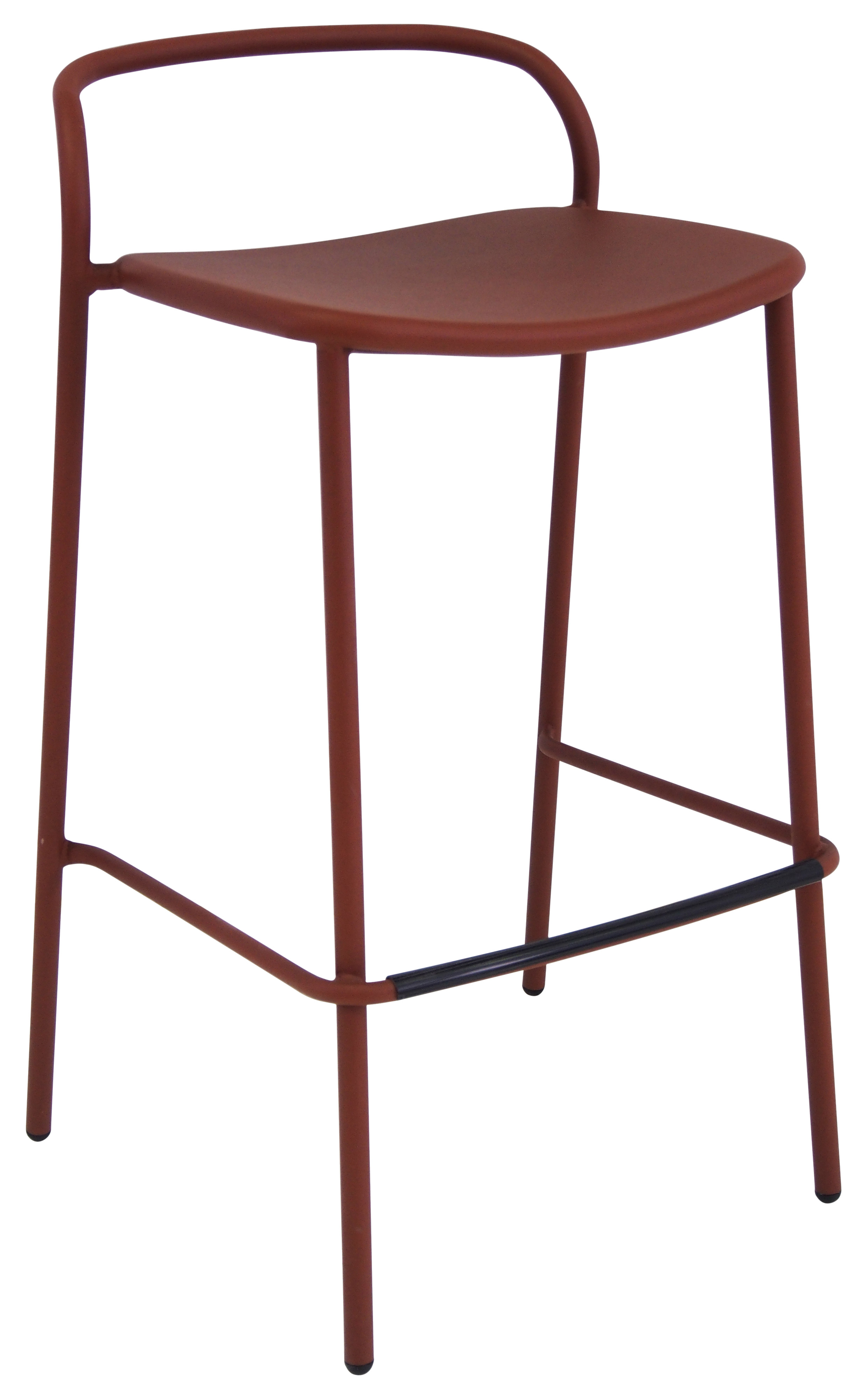 emuamericas, llc 654 bar stool, stacking, outdoor