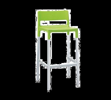 emuamericas, llc 9208 bar stool, stacking, outdoor