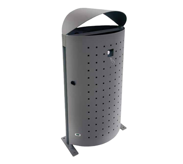emuamericas, llc U694L trash receptacle, outdoor/indoor