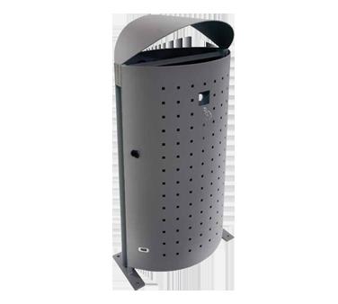emuamericas, llc U694S trash receptacle, outdoor/indoor