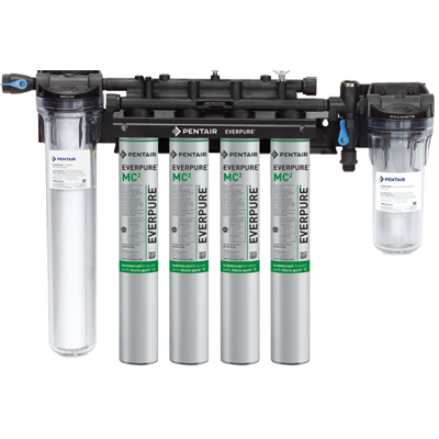 Everpure EV934710 water filtration system, for multiple applications