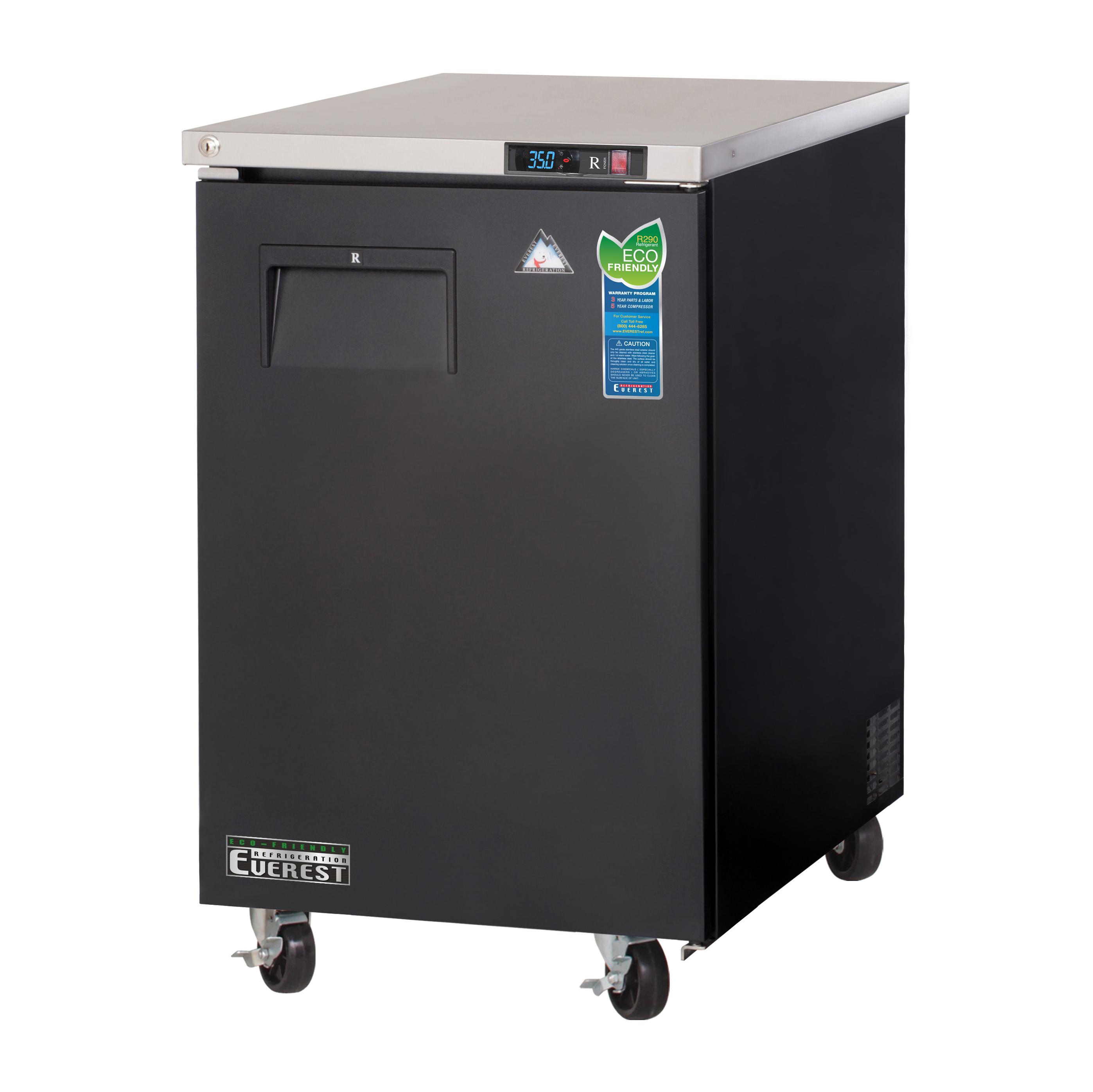 Everest Refrigeration EBB23 back bar cabinet, refrigerated