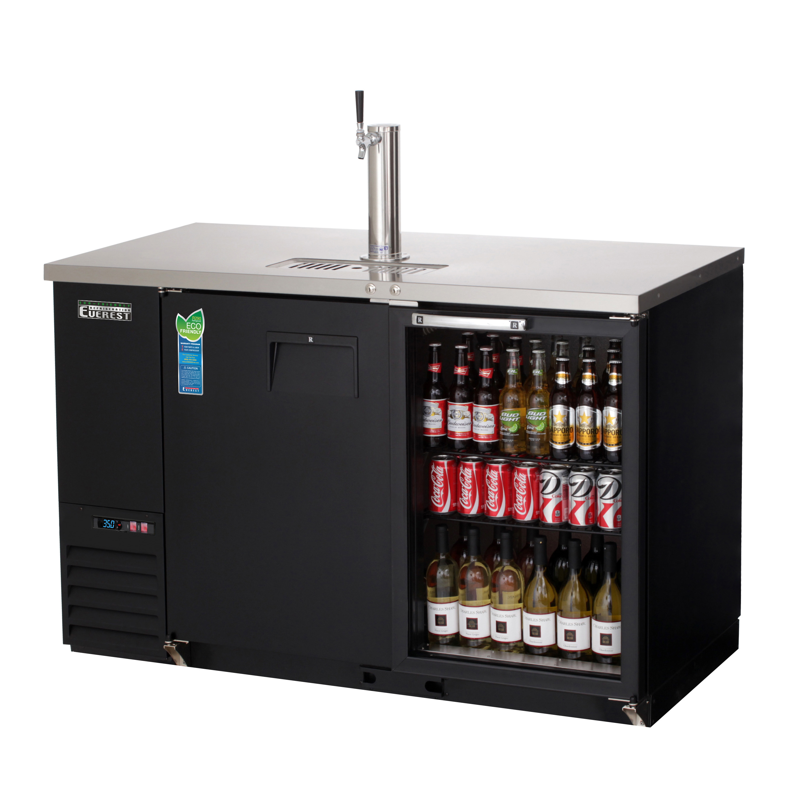 Everest Refrigeration EBD2-BBG-24 draft beer cooler
