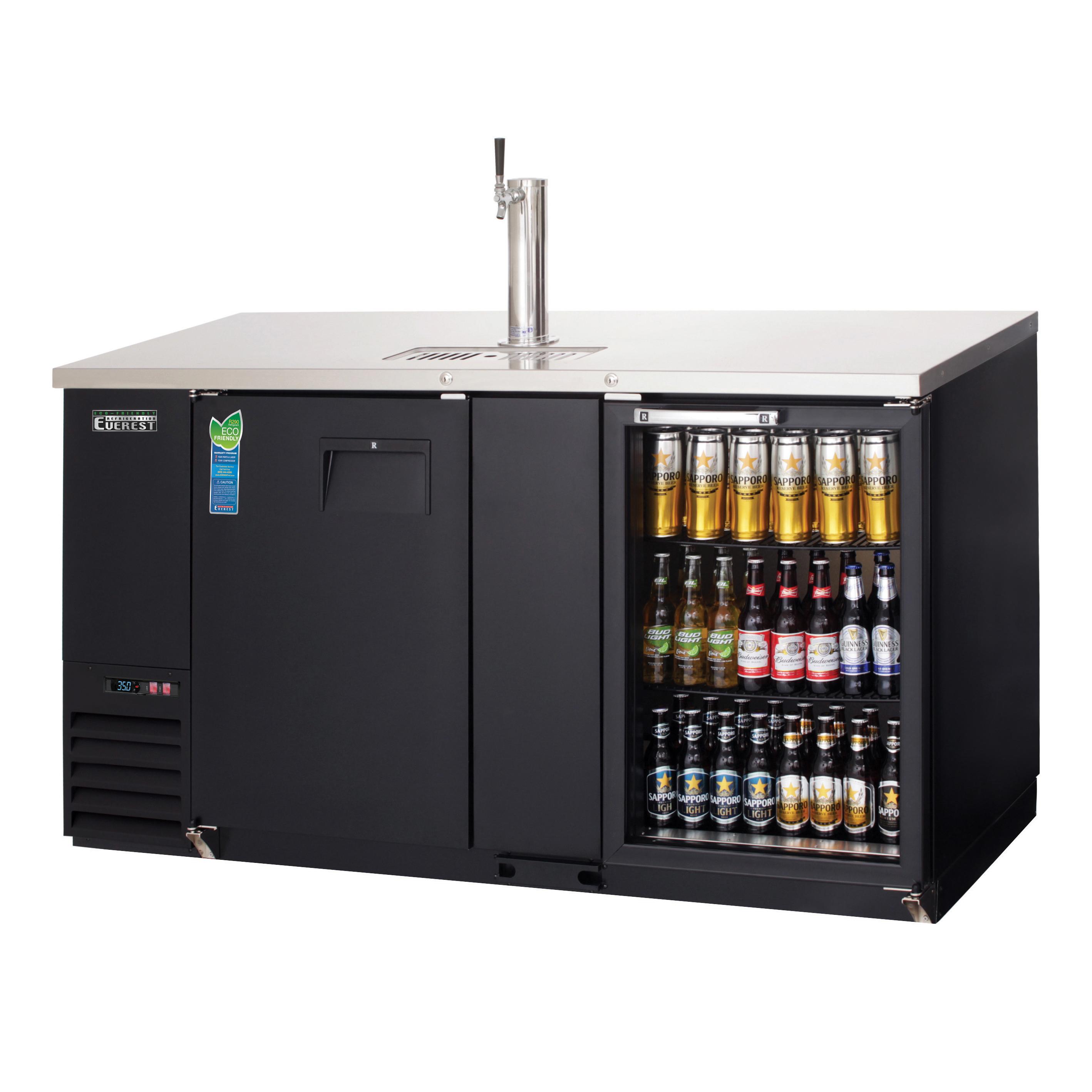 Everest Refrigeration EBD3-BBG draft beer cooler