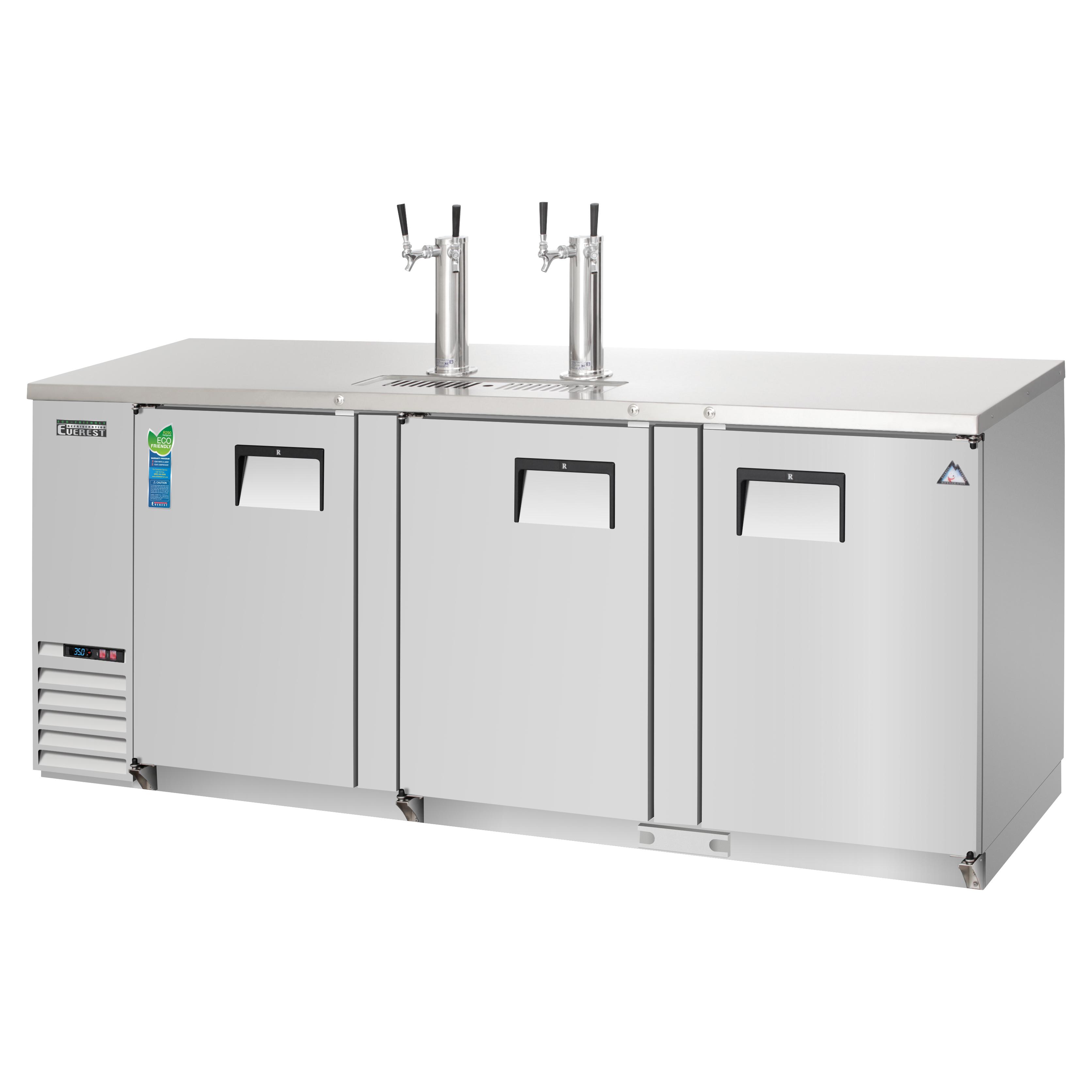 Everest Refrigeration EBD4-SS draft beer cooler
