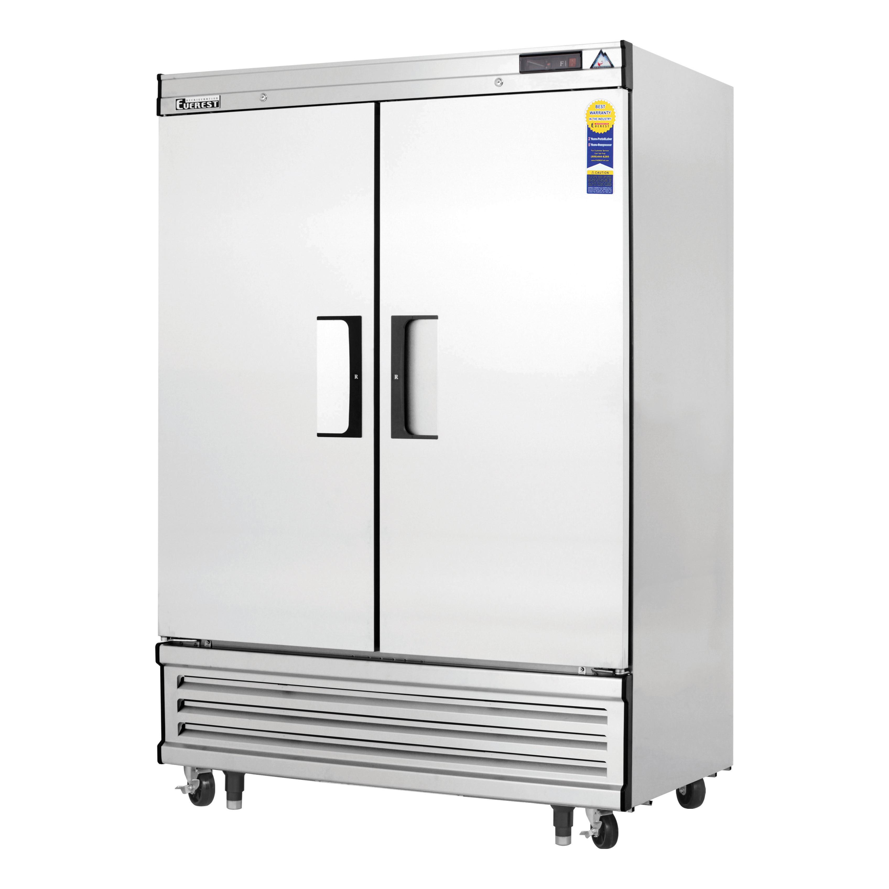 Everest Refrigeration EBF2 freezer, reach-in