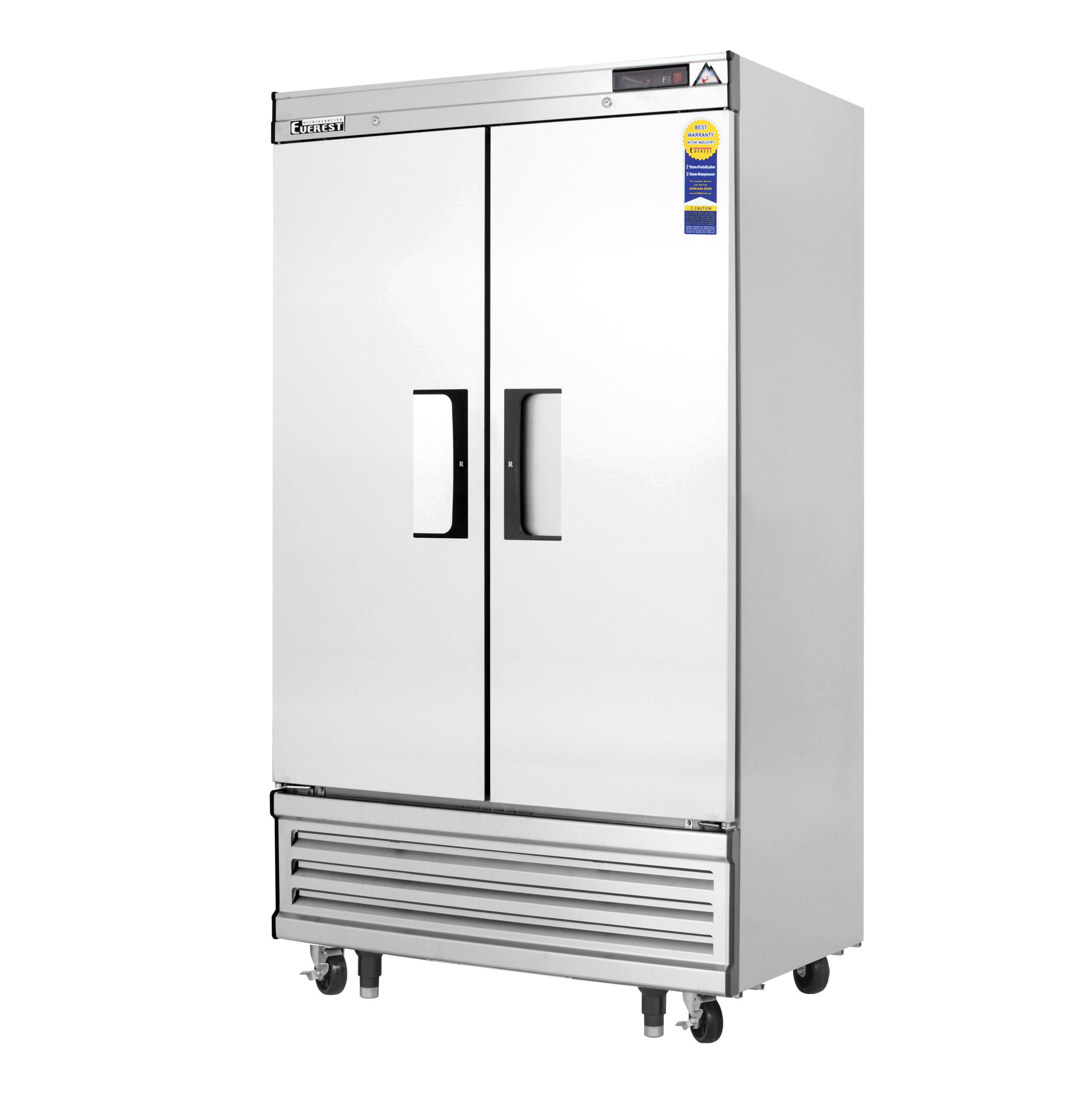 Everest Refrigeration EBNF2 freezer, reach-in