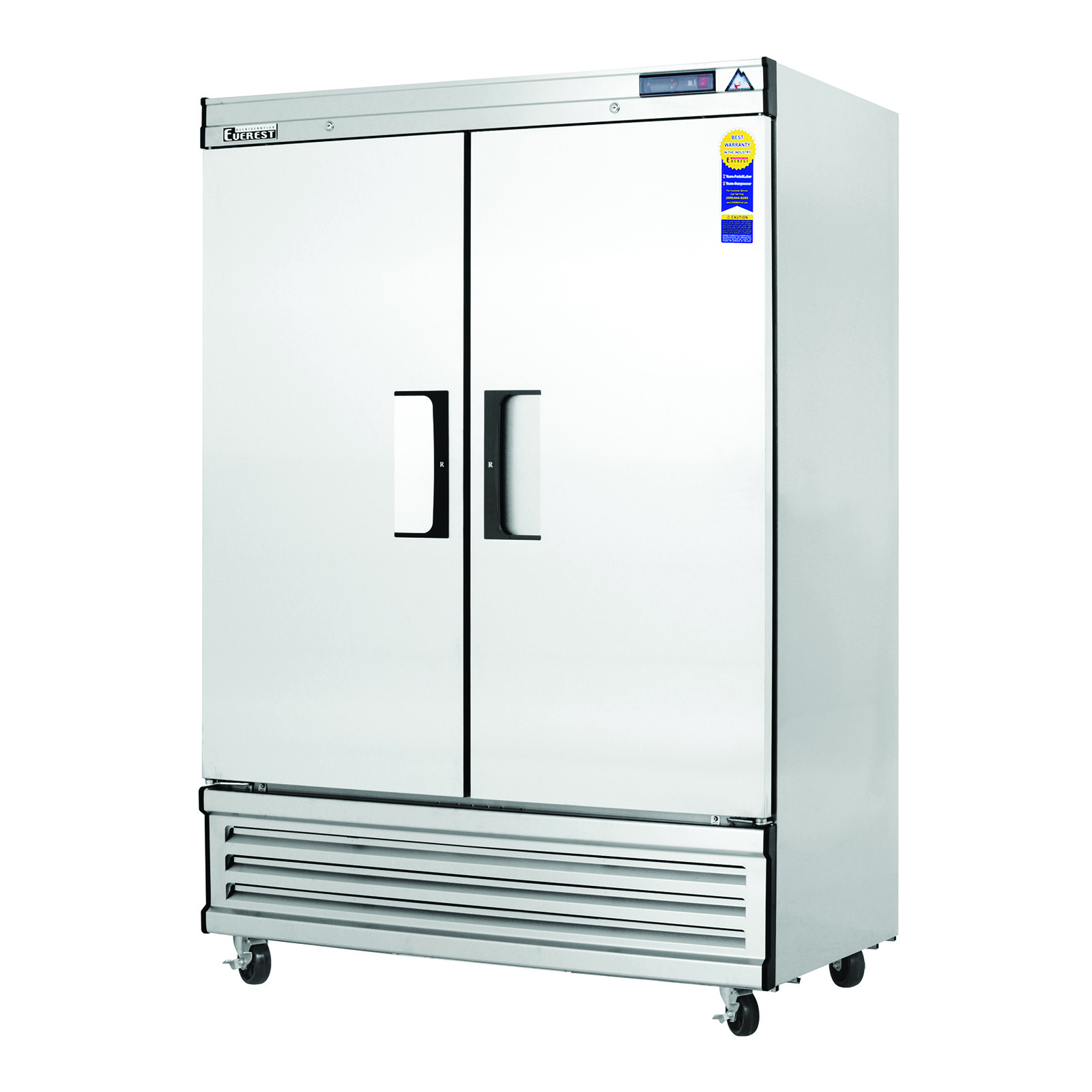 Everest Refrigeration EBSF2 freezer, reach-in