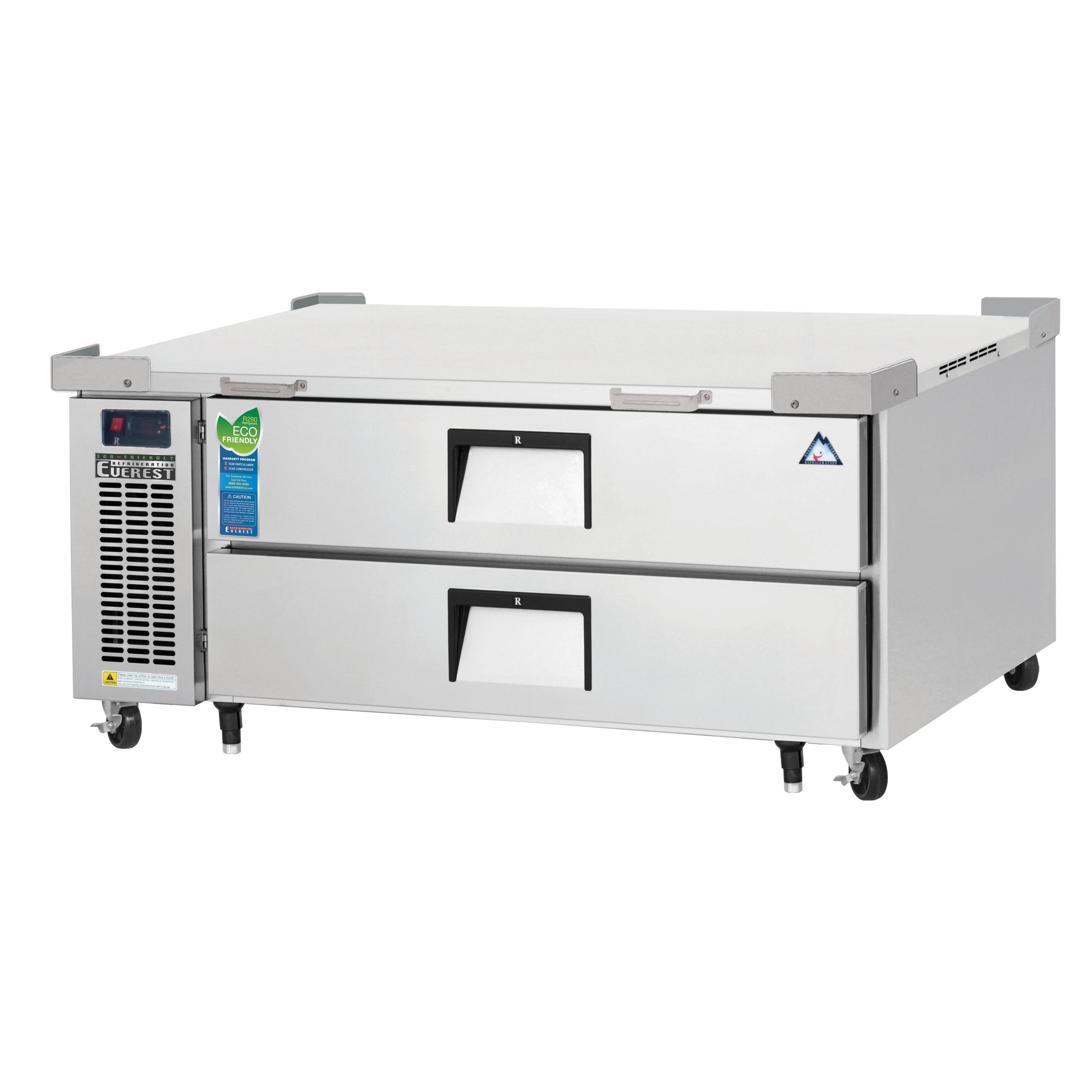 Everest Refrigeration ECB52D2 equipment stand, refrigerated base