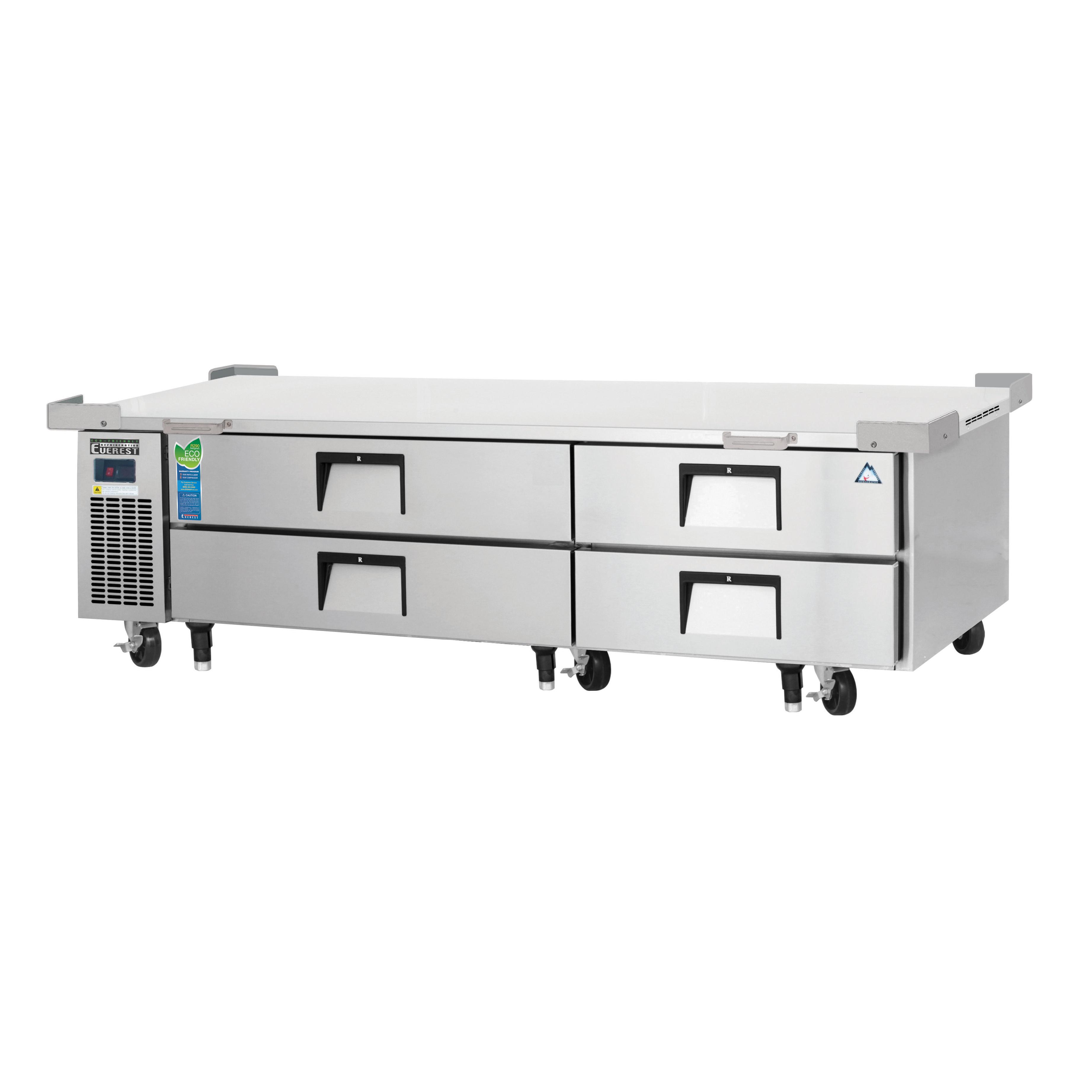 Everest Refrigeration ECB82-86D4 equipment stand, refrigerated base