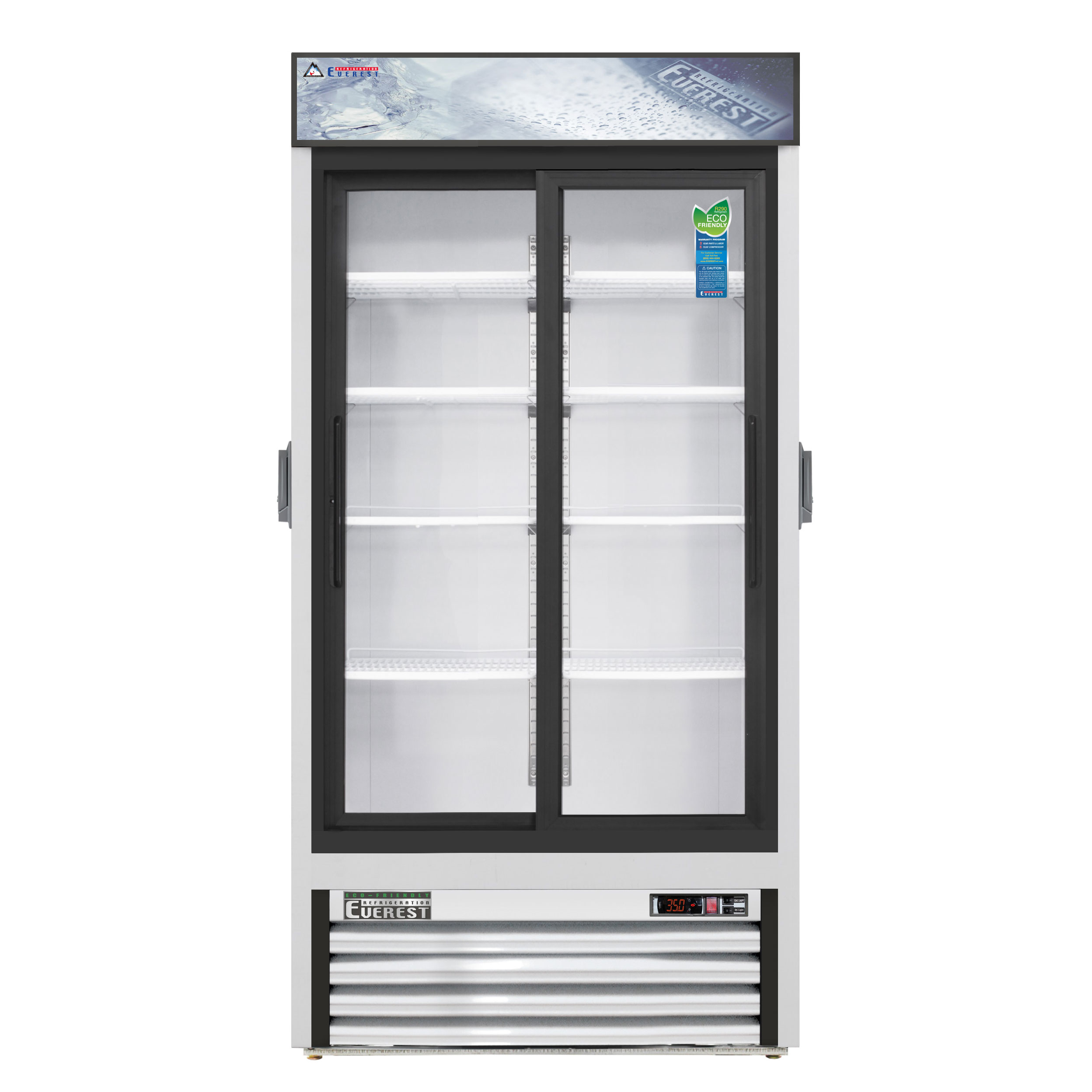 Everest Refrigeration EMGR33C refrigerator, merchandiser