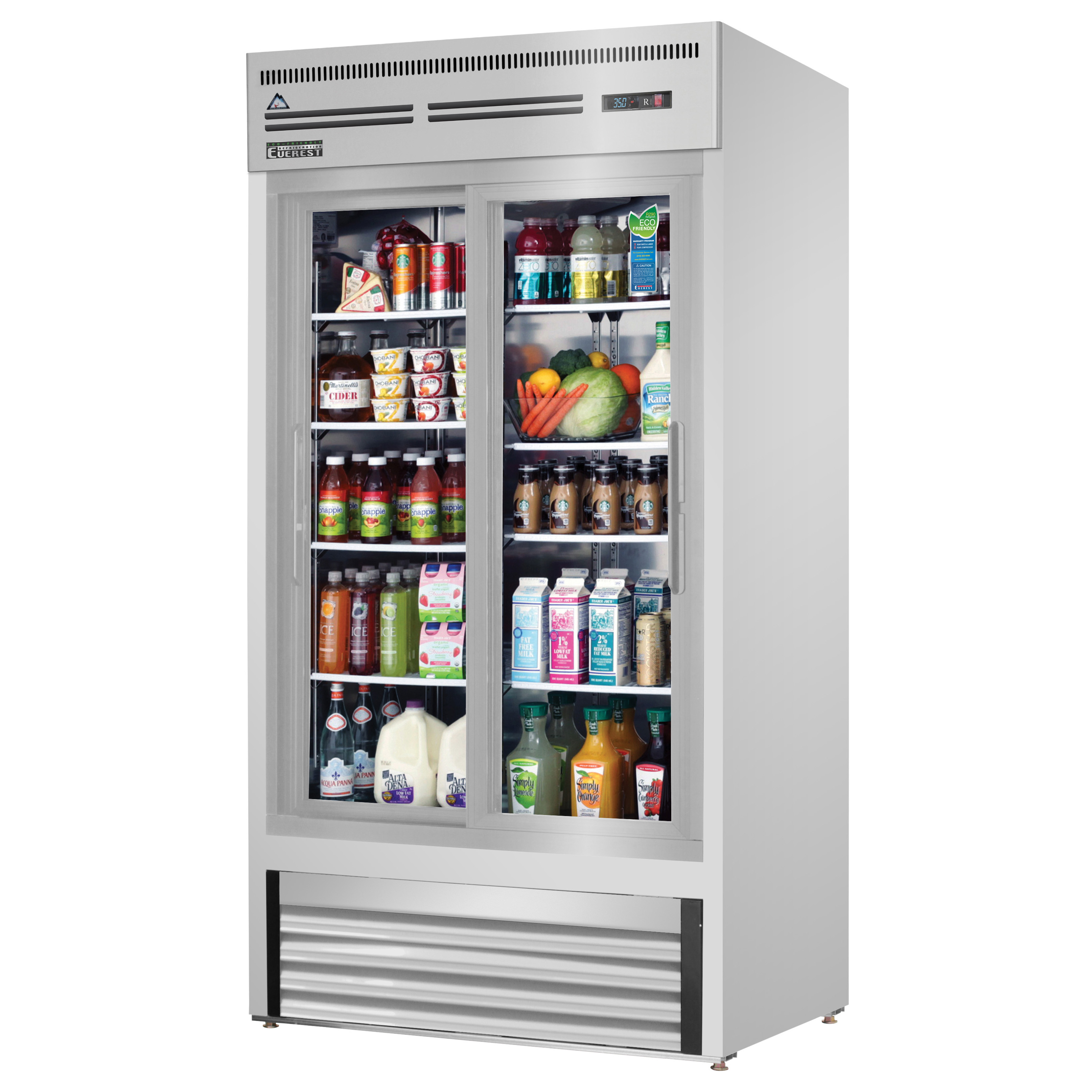 Everest Refrigeration EMGR33-SS refrigerator, merchandiser