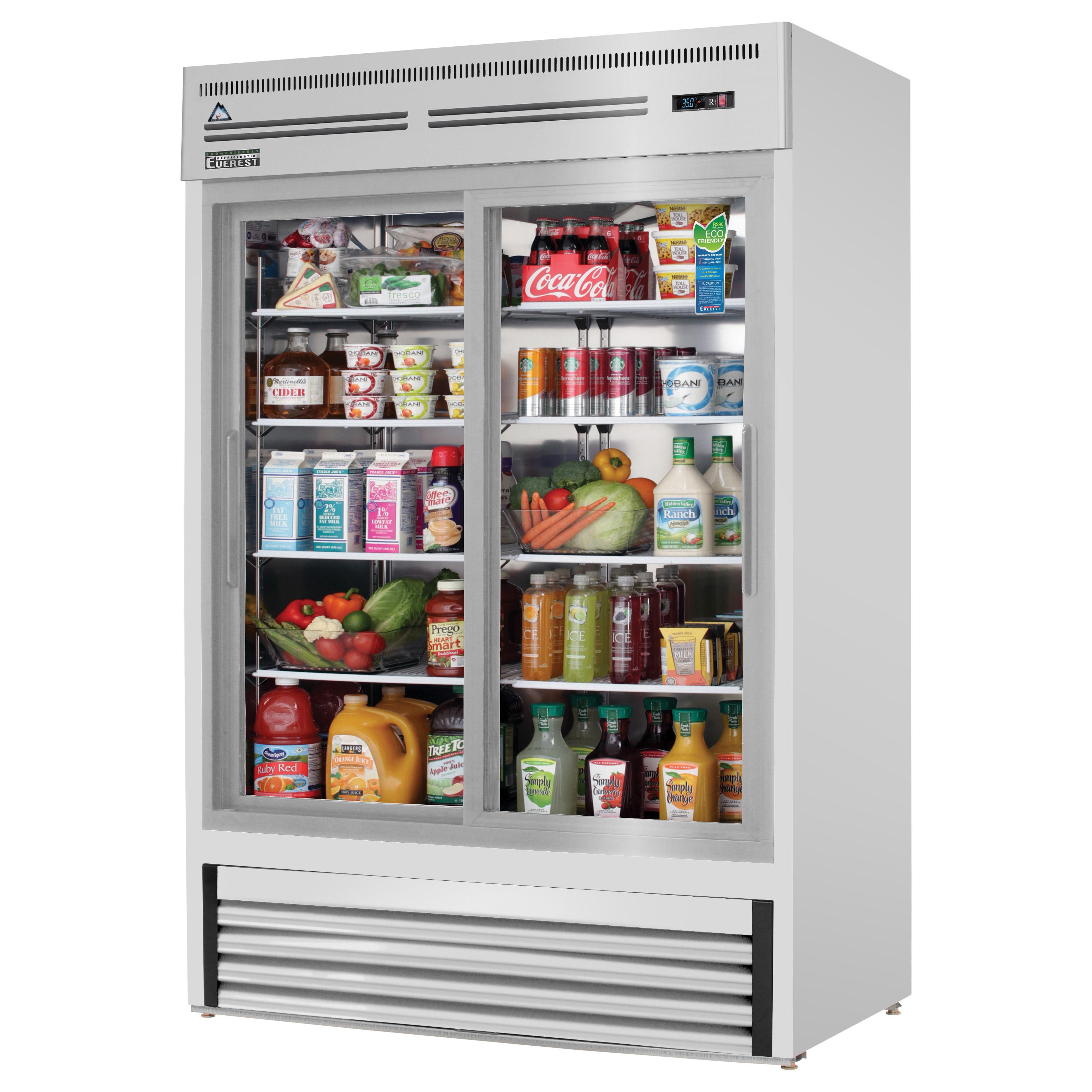 Everest Refrigeration EMGR48-SS refrigerator, merchandiser