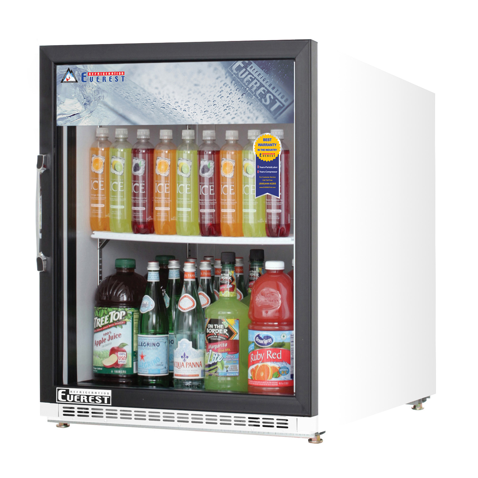 Everest Refrigeration EMGR5 refrigerator, merchandiser, countertop