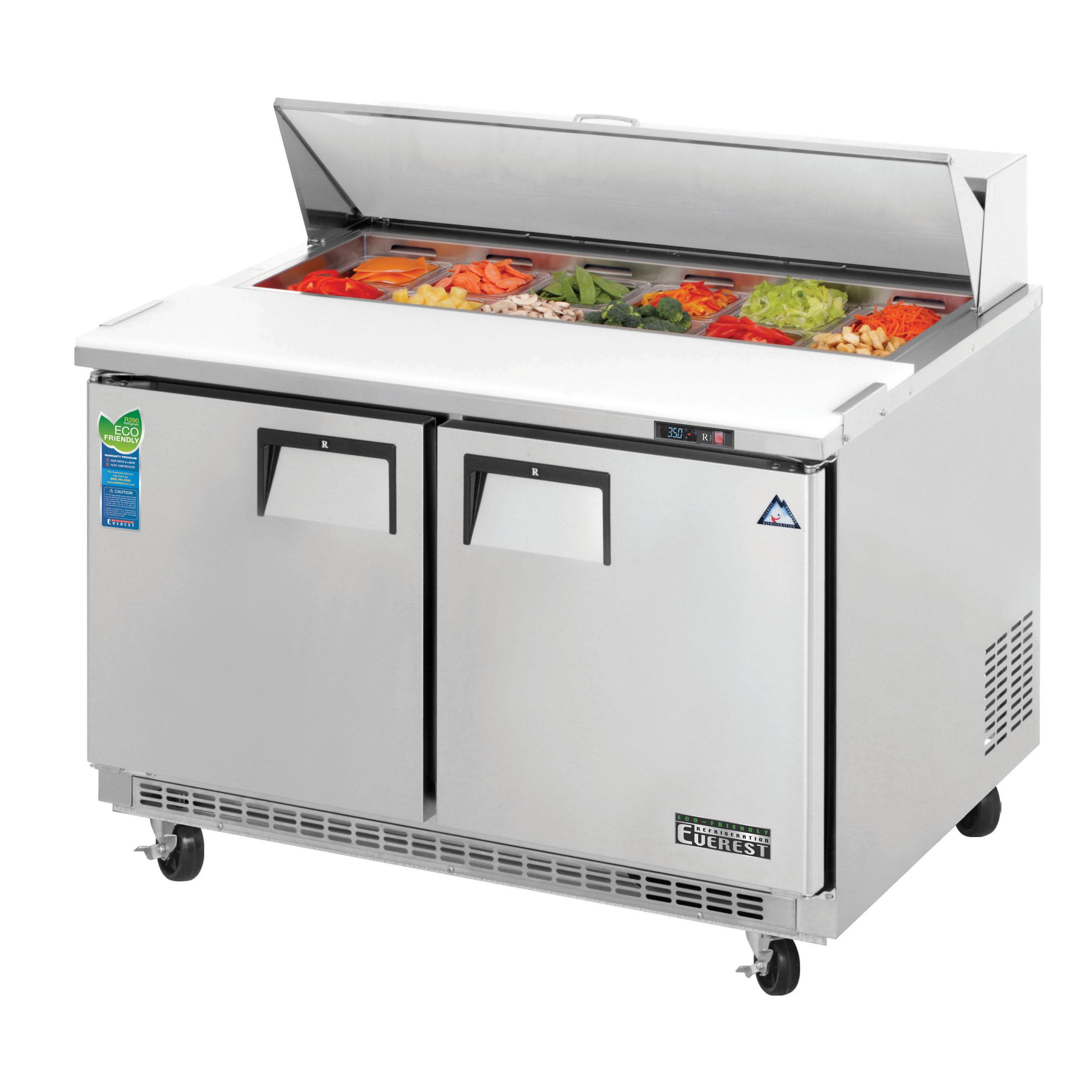 Everest Refrigeration EPBNR2 refrigerated counter, sandwich / salad unit