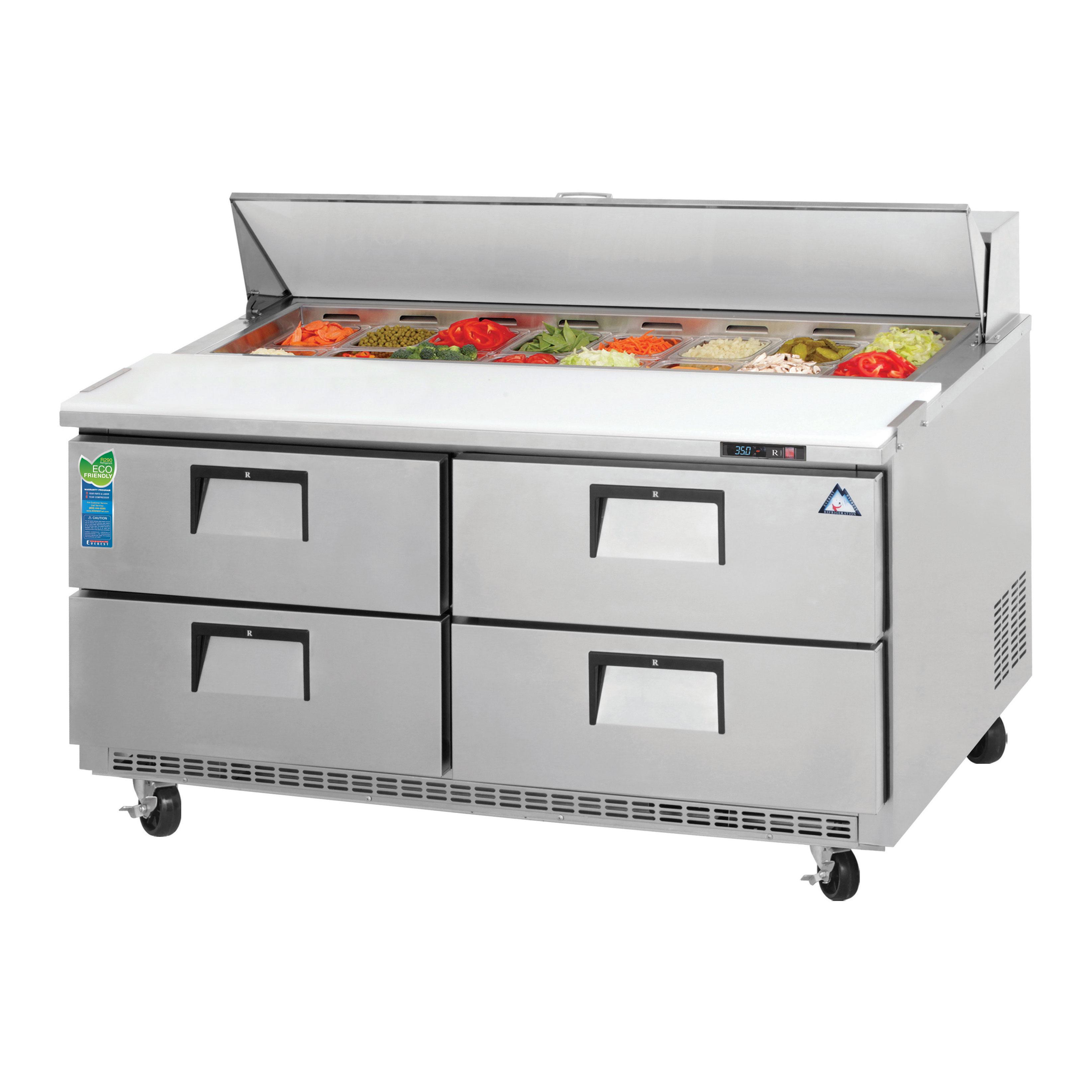 Everest Refrigeration EPBNWR2-D4 refrigerated counter, sandwich / salad unit