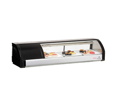 Everest Refrigeration ESC47L display case, refrigerated sushi
