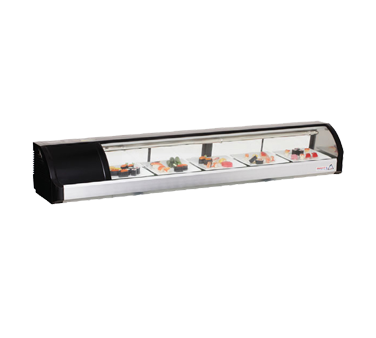 Everest Refrigeration ESC71L display case, refrigerated sushi