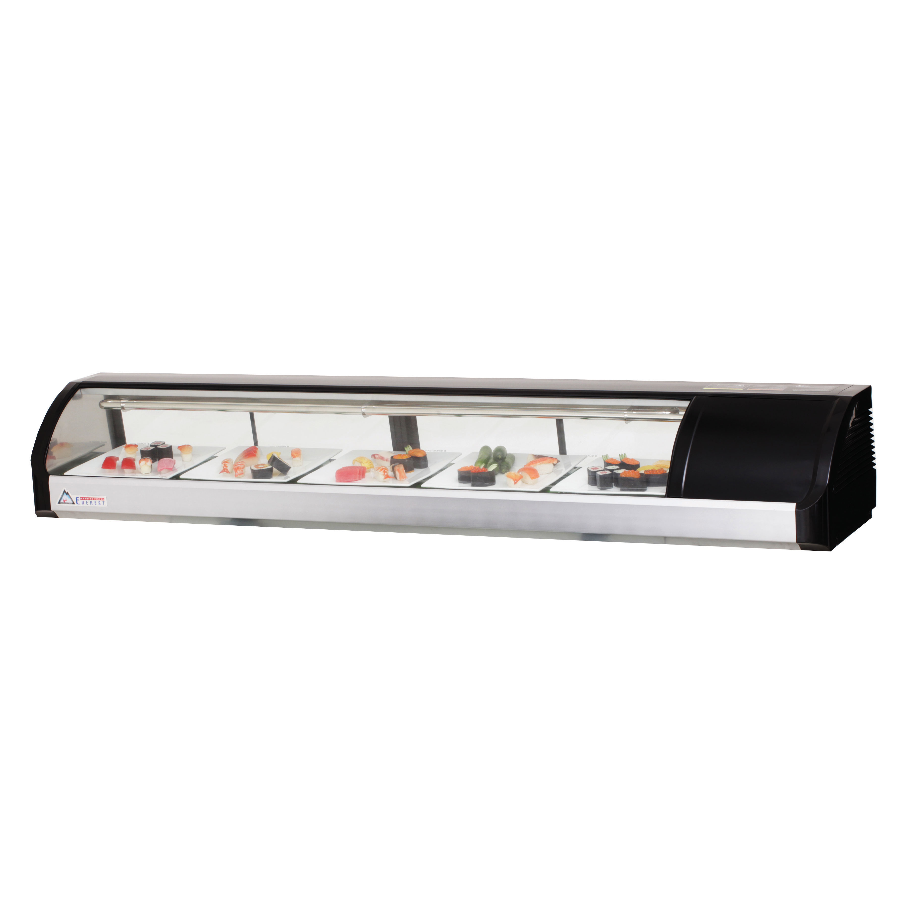 Everest Refrigeration ESC71R display case, refrigerated sushi
