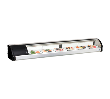 Everest Refrigeration ESC83L display case, refrigerated sushi
