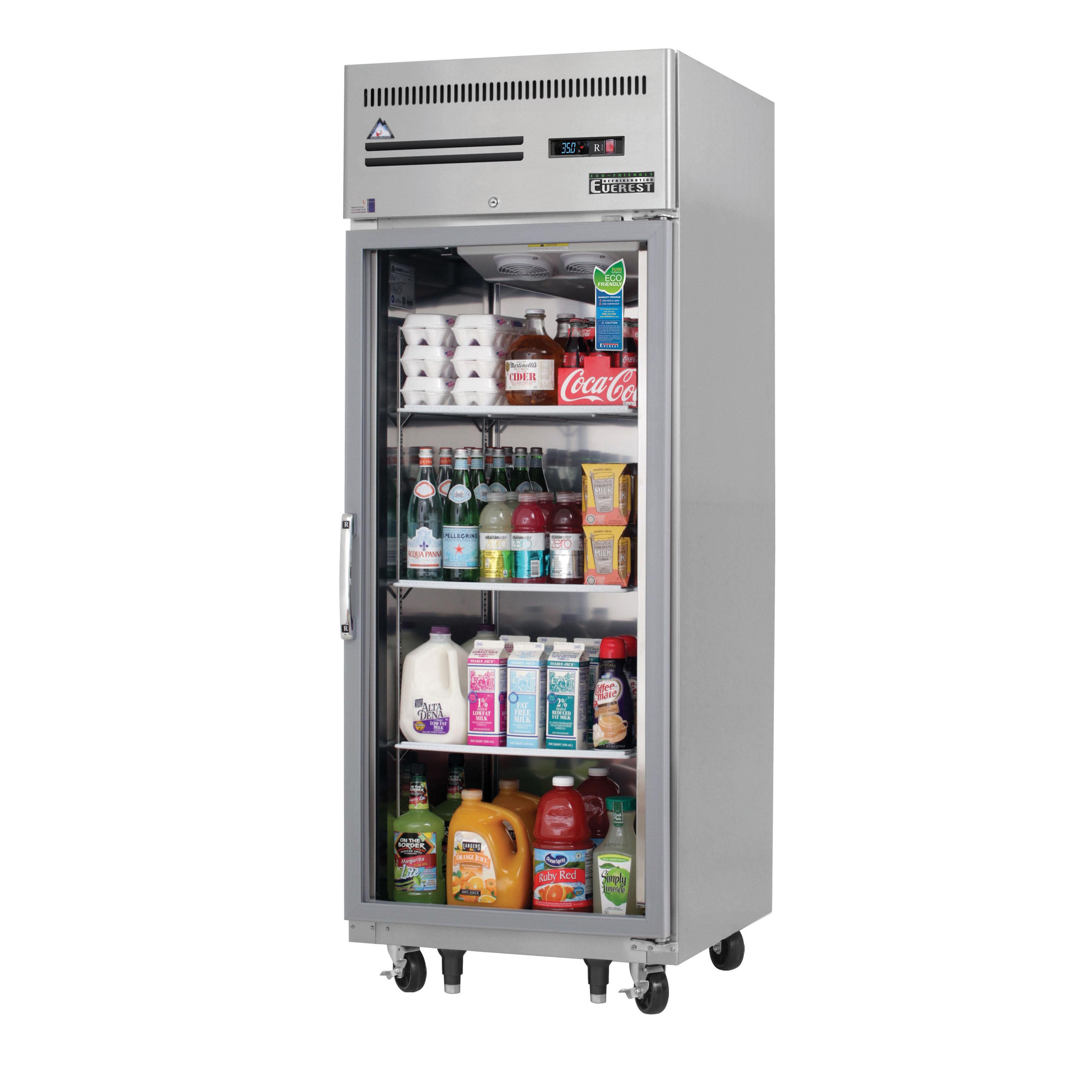 Everest Refrigeration ESGR1 refrigerator, reach-in