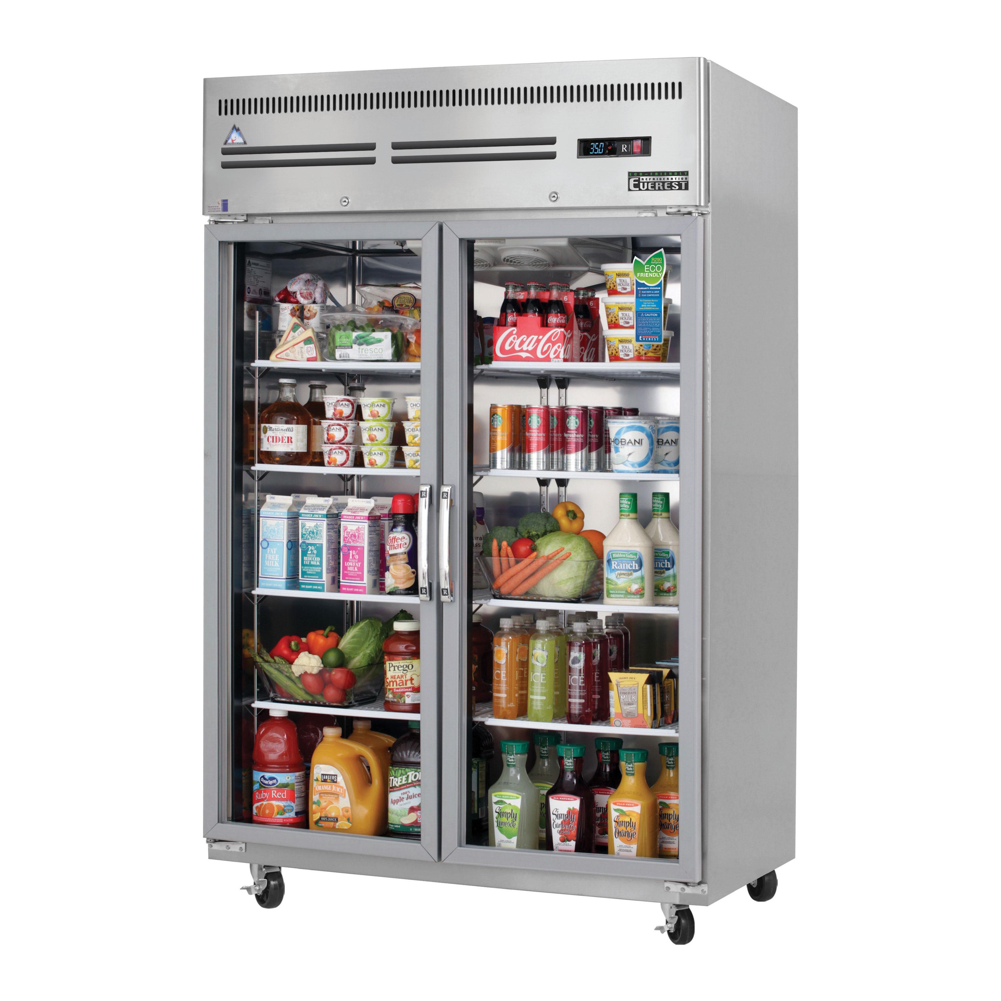 Everest Refrigeration ESGR2 refrigerator, reach-in
