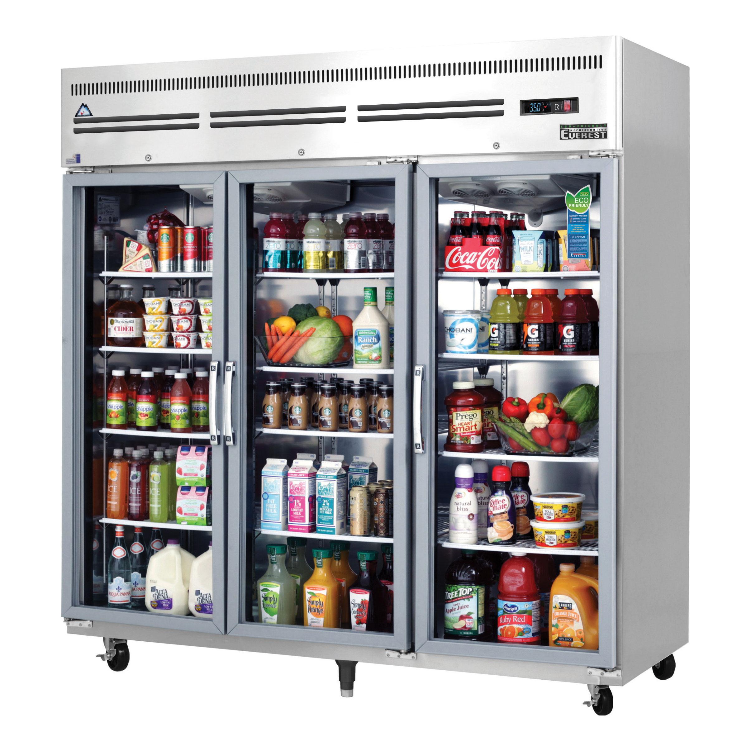 Everest Refrigeration ESGR3A refrigerator, reach-in