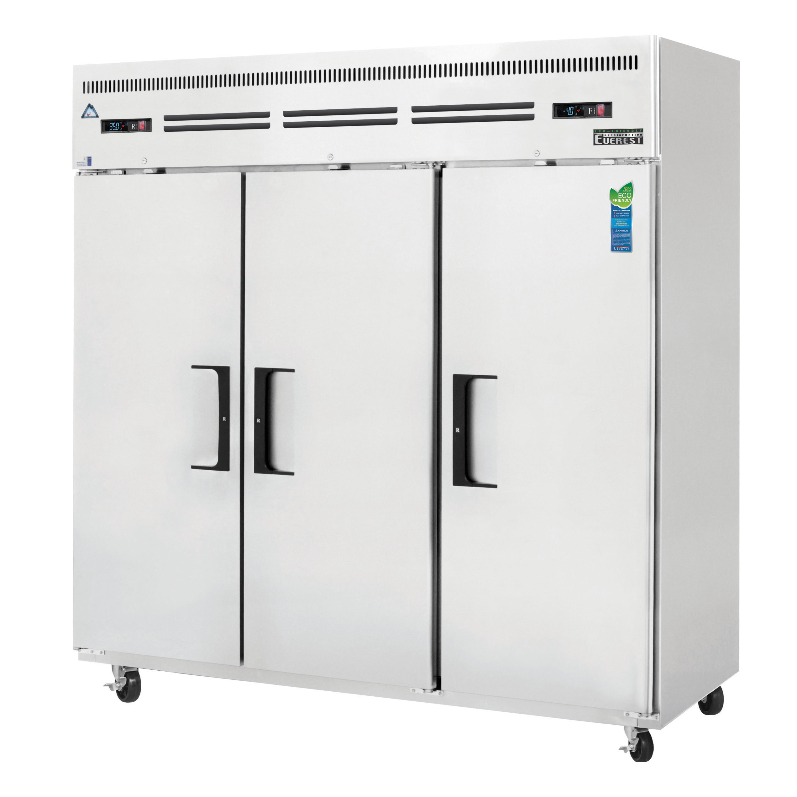 Everest Refrigeration ESRF3 refrigerator freezer, reach-in