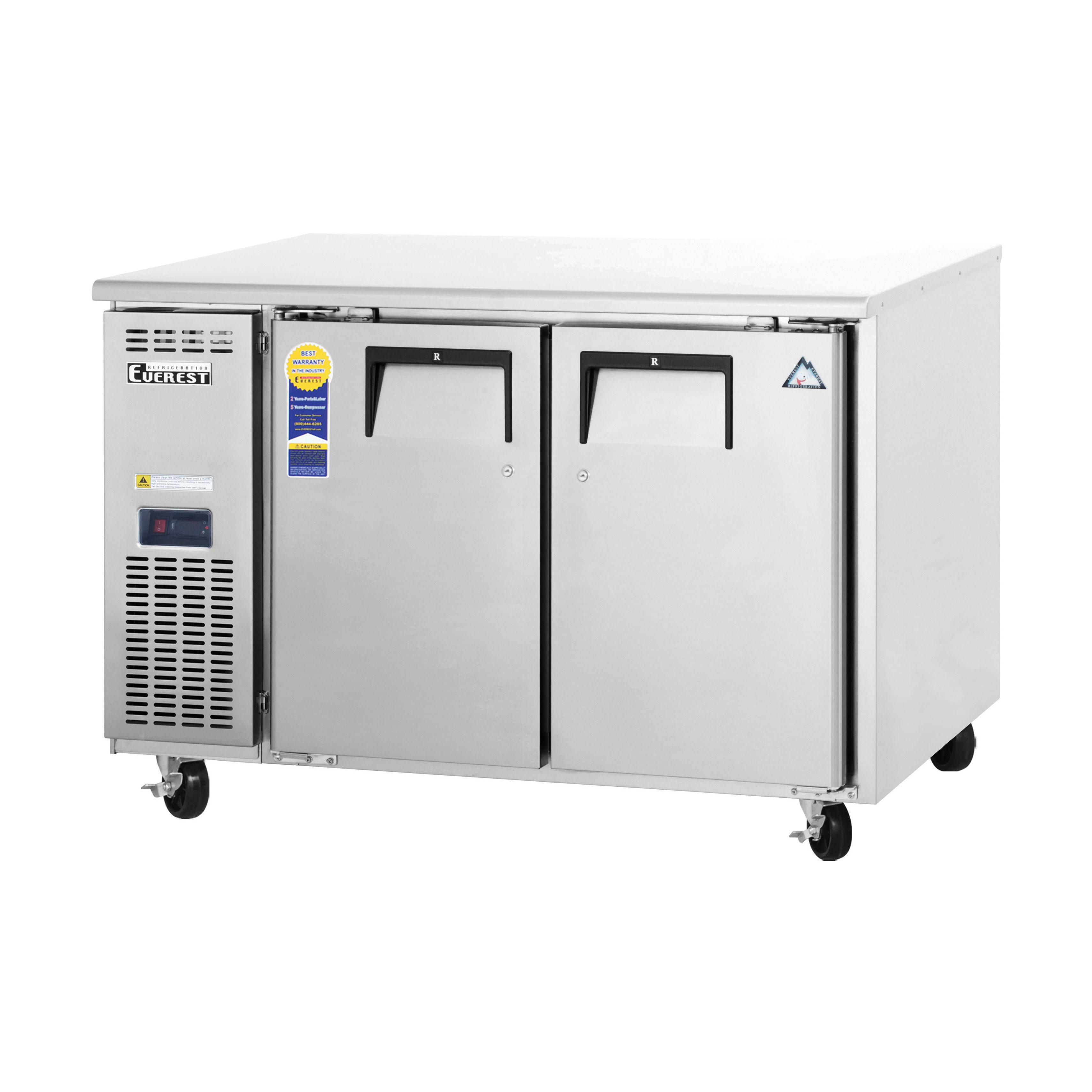 Everest Refrigeration ETF2 freezer, undercounter, reach-in